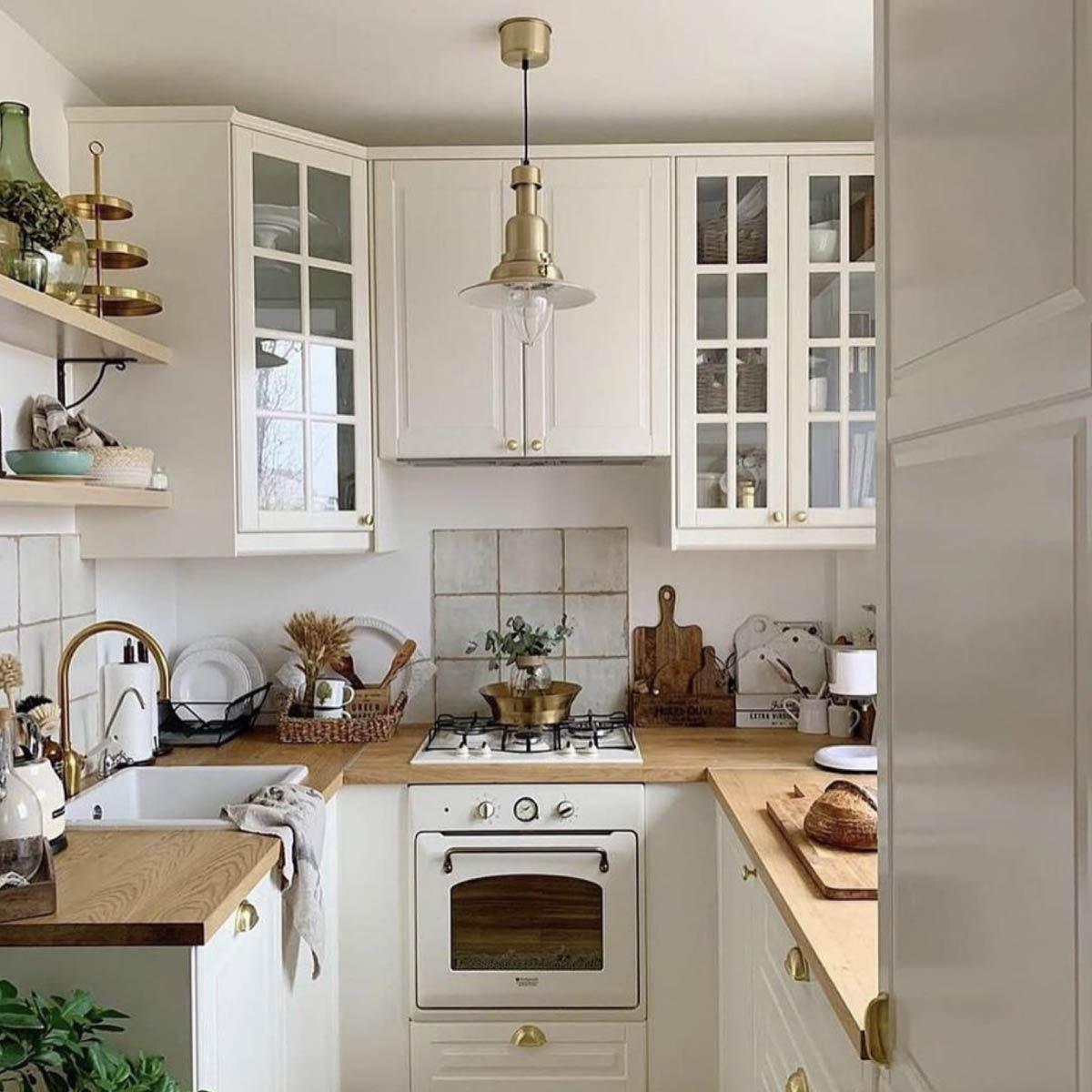 Интерьер кухни. Пример дизайна