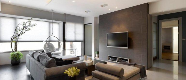 Примеры современного дизайна гостиной
