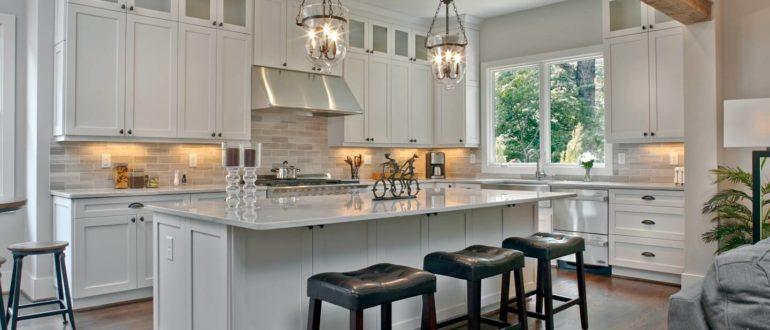 Идеи дизайна кухни в частном доме
