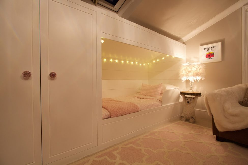Идея дизайна комнаты для девочки