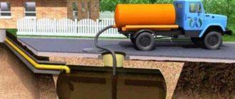 Септик из бетонных колец для дома и дачи